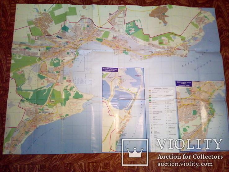 Керчь, план города, М 1: 20000, изд, Картография 2007г, фото №6