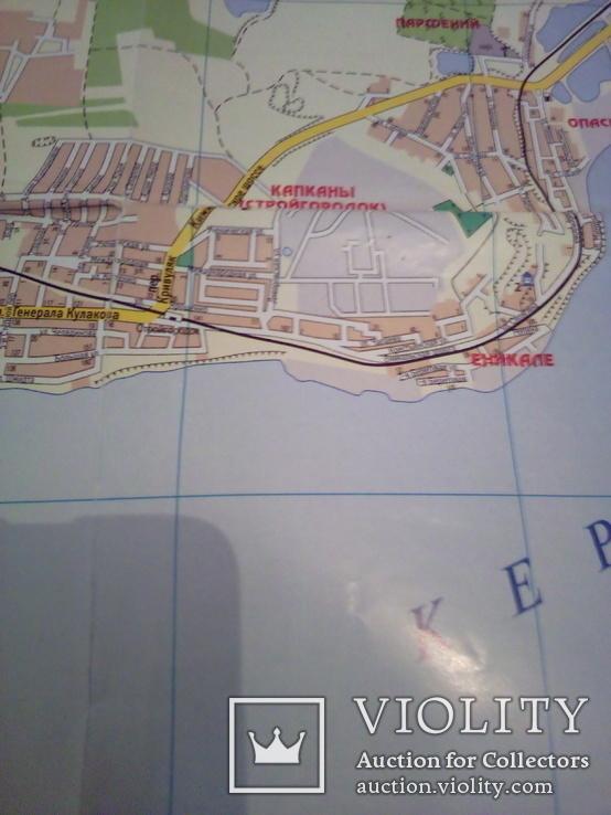 Керчь, план города, М 1: 20000, изд, Картография 2007г, фото №7