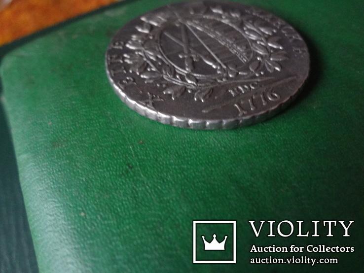 Талер 1776 Саксония   серебро  (2.4.16), фото №6