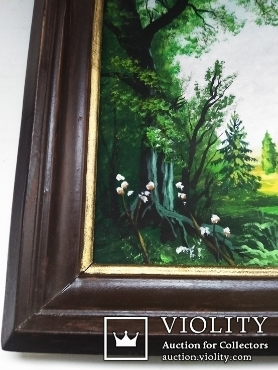 Картина окрестности Петербурга. Худ. Гороховский, фото №3