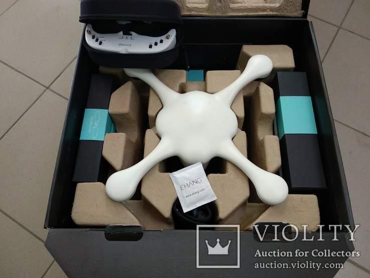 Квадрокоптер Ehang Ghostdrone 2.0 VR Android GPS 4k з окулярами VR, фото №2