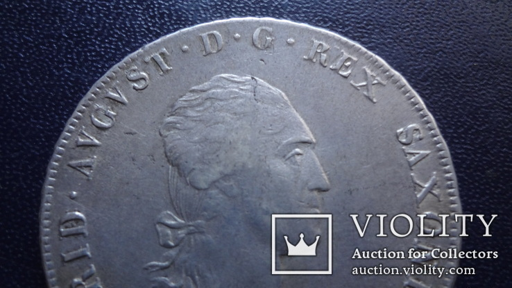Талер 1808 Саксония серебро (3.4.10)~, фото №3