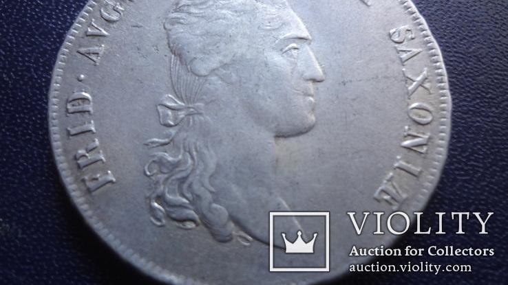 Талер 1808 Саксония серебро (3.4.10)~, фото №4