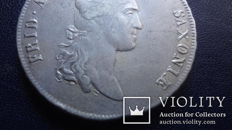 Талер 1808 Саксония серебро (3.4.10)~, фото №5