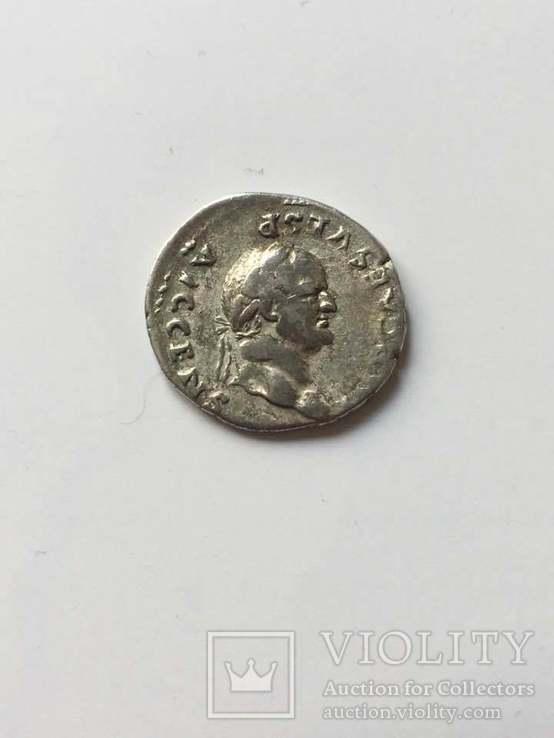 Веспасиан (69-79) . Денарий 73г., фото №3