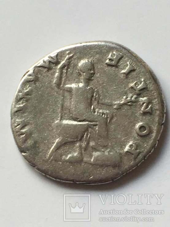 Веспасиан (69-79) . Денарий 73г., фото №4