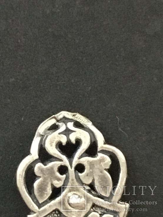 Крестик. Серебро 925, фото №5