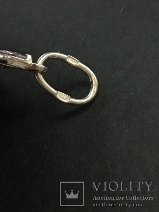 Крестик серебряный, фото №5