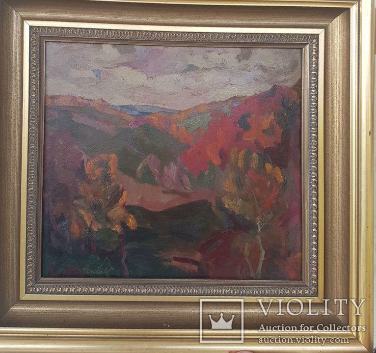 """А.Ерделі """"Гаряча осінь"""", фото №2"""