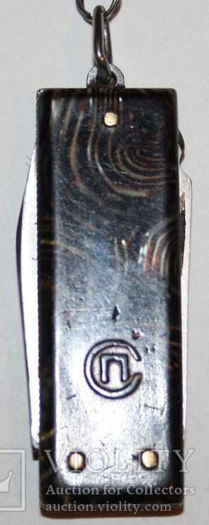 80.Брелок раскладной ножик СССР, фото №5