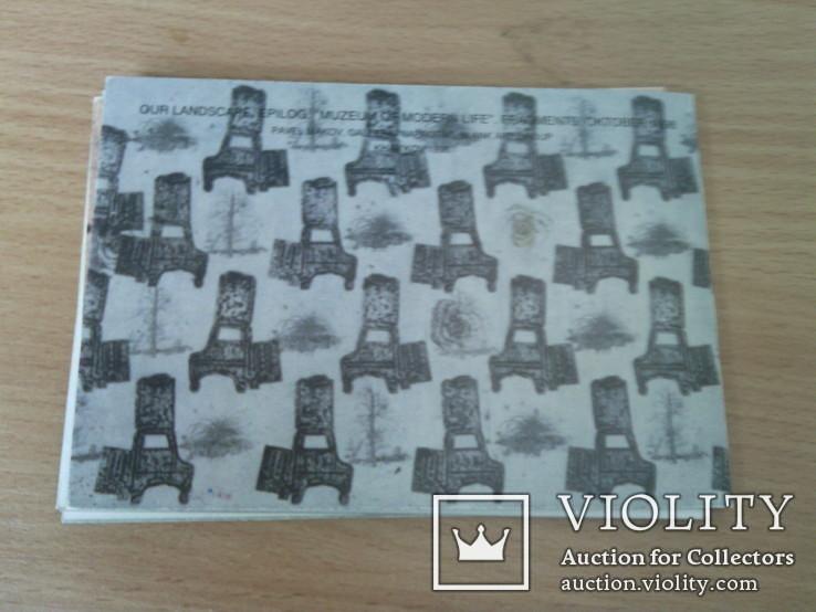 "Павел Марков ""Галерея напротив"" набор 8 сюжетов, изд, Art Group 1998г, фото №2"