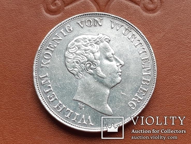Талер 1833  Королівство Вюртемберг, фото №3