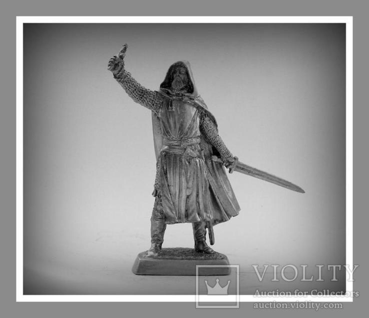 Игрушечные Солдатики Рыцарь 12 Век 54 Мм Оловянные Cолдатики Миниатюры Статуэтки, фото №2