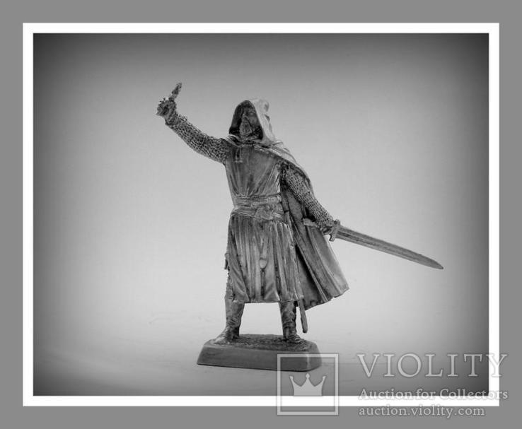 Игрушечные Солдатики Рыцарь 12 Век 54 Мм Оловянные Cолдатики Миниатюры Статуэтки, фото №3