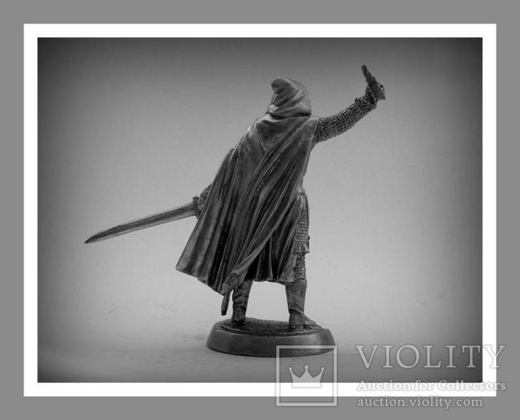 Игрушечные Солдатики Рыцарь 12 Век 54 Мм Оловянные Cолдатики Миниатюры Статуэтки, фото №4