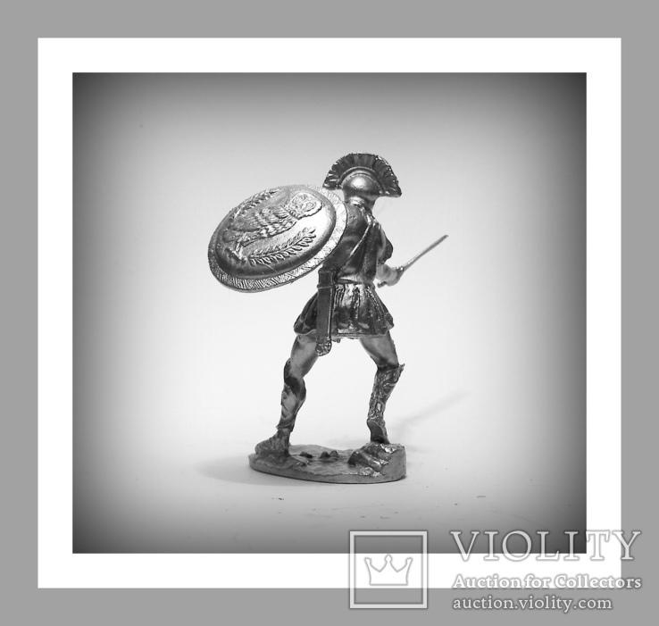 Игрушечные Солдатики Греческий Воин 5 Век до н.э. 54 мм Оловянные Cолдатики Миниатюры, фото №4