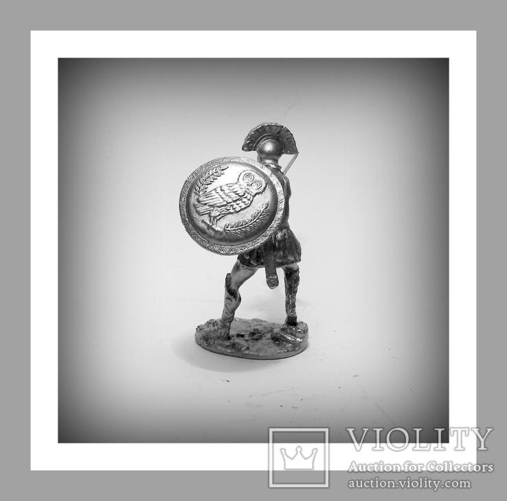 Игрушечные Солдатики Греческий Воин 5 Век до н.э. 54 мм Оловянные Cолдатики Миниатюры, фото №5