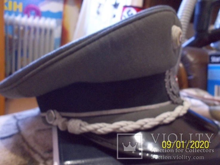 Фуражка  офицерская  австрийская  армия. раз. 56., фото №6