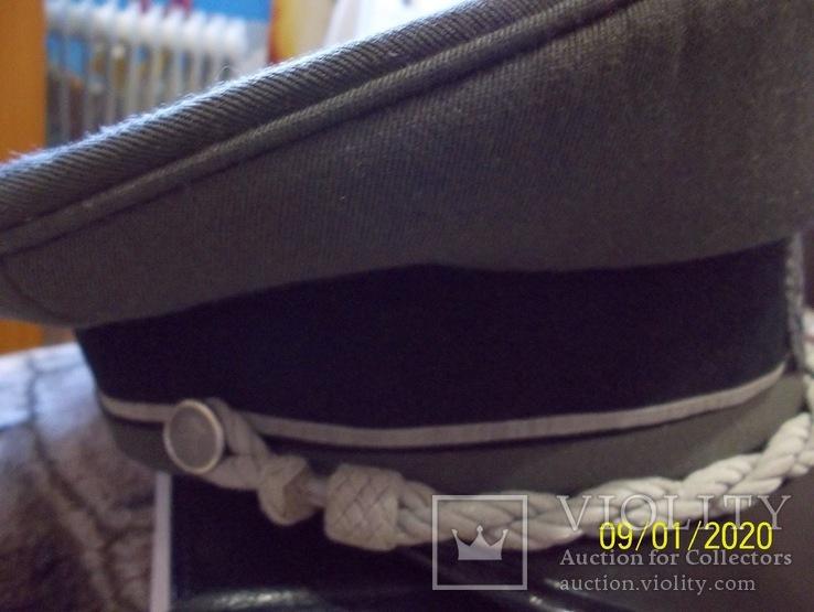 Фуражка  офицерская  австрийская  армия. раз. 56., фото №7