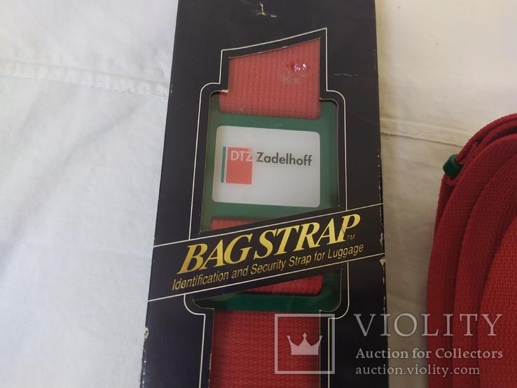 Два Новых ремня для чемоданов, сумок и прочего. Нидерланды, фото №8