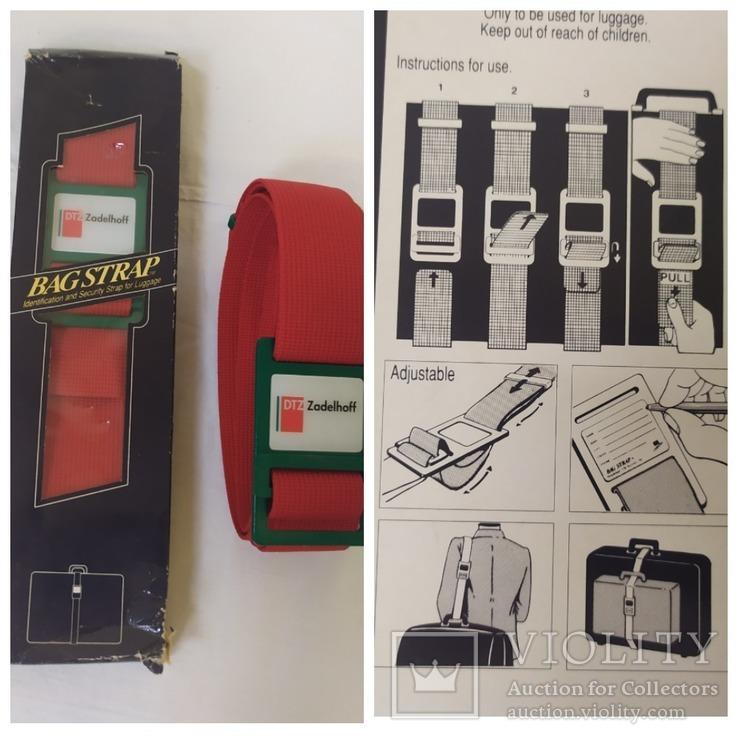 Два Новых ремня для чемоданов, сумок и прочего. Нидерланды, фото №2