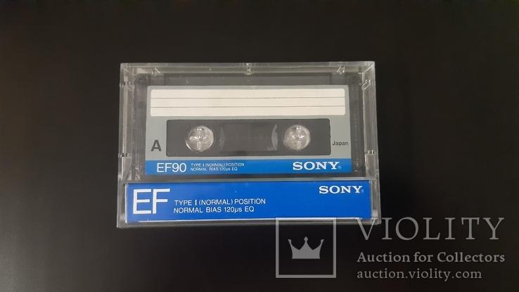 Касета Sony EF 90 (Release year: 1985), фото №2