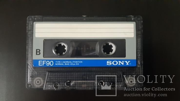 Касета Sony EF 90 (Release year: 1985), фото №5