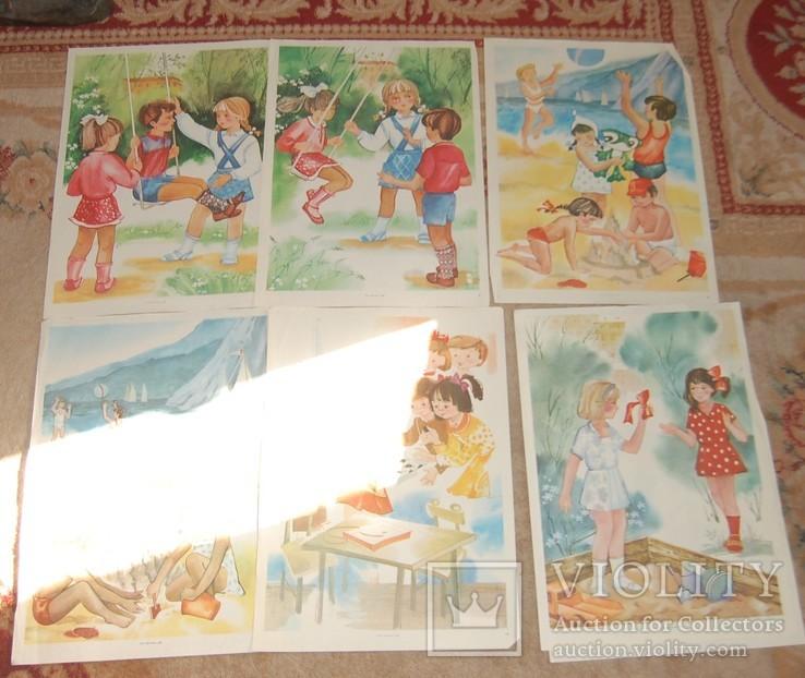 Детские картинки  40х30 см 40 шт, фото №6