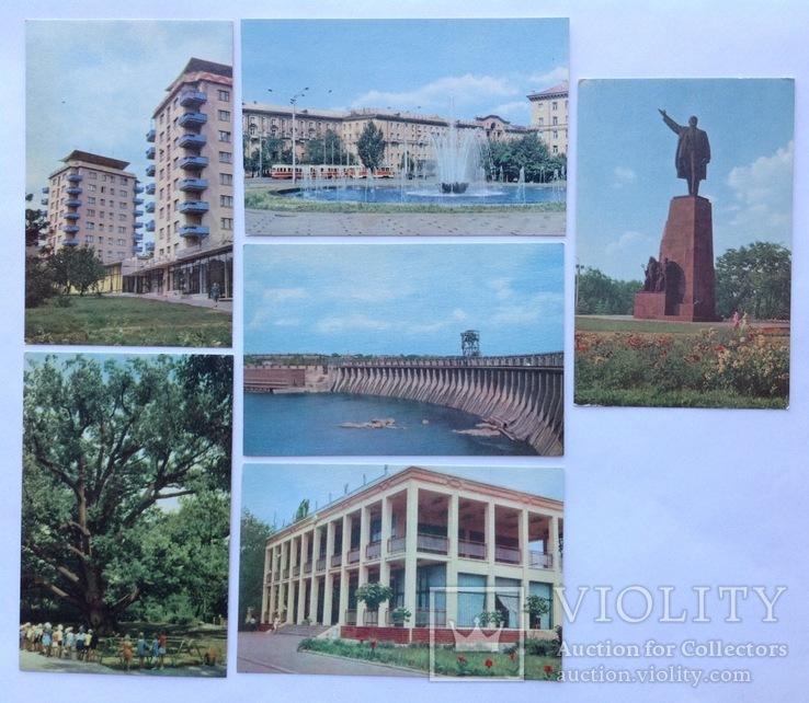 1969 Открытки Запорожье 6 шт., фото №2