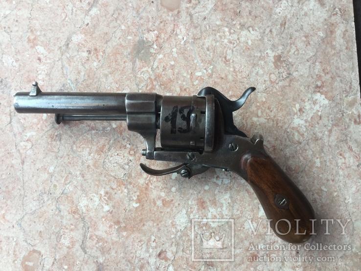 Шпилечный карманный револьвер 7 мм