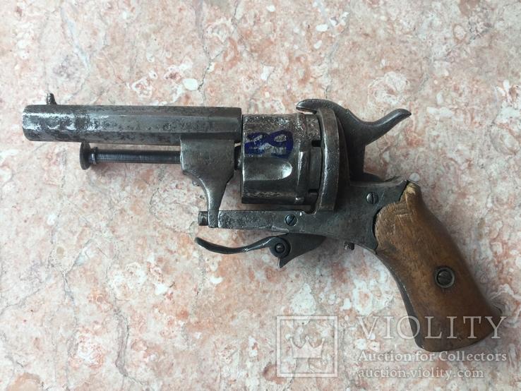 7 мм шпилечный револьвер системы Лефоше
