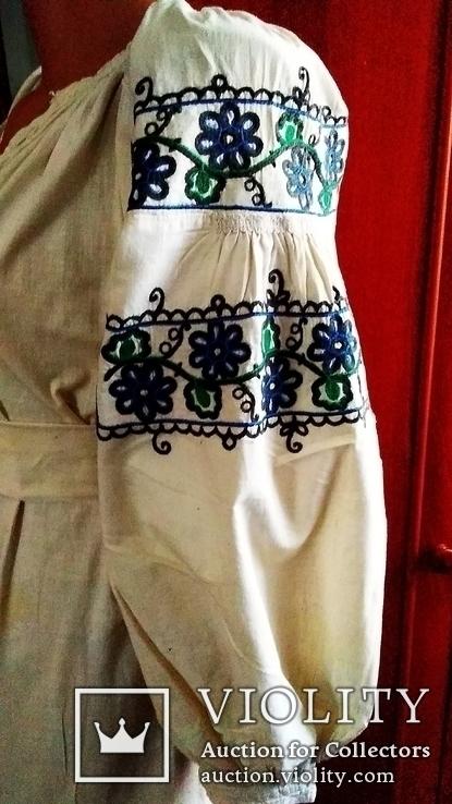 Старинная вышиванка тамбур ( Сумщина), фото №3