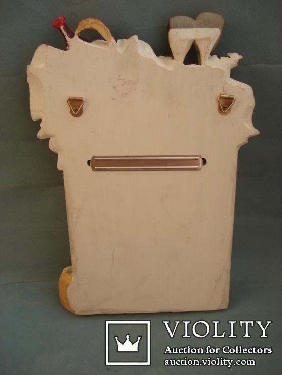 Плакетка кухонная настенная подарочная, записная книжка. Барельеф., фото №10