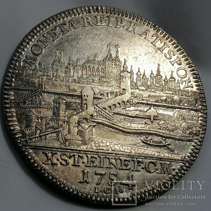 Taler Regensburg 1754, фото №2