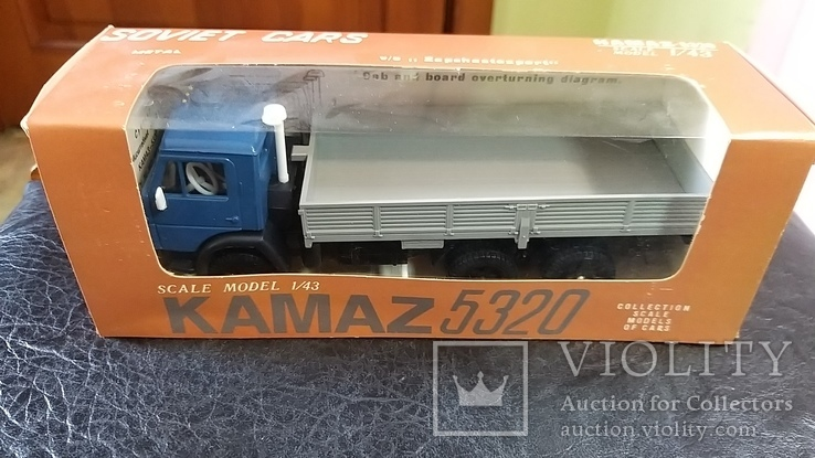 Модель КамАЗ 5320 в родной коробке, фото №2