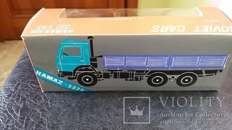 Модель КамАЗ 5320 в родной коробке, фото №3