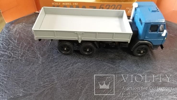 Модель КамАЗ 5320 в родной коробке, фото №11