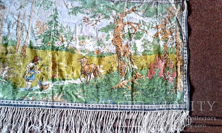 Декоративное настенное матерчатое полотно Красная шапочка, фото №4