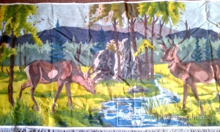 Декоративное настенное матерчатое полотно Олени, фото №5
