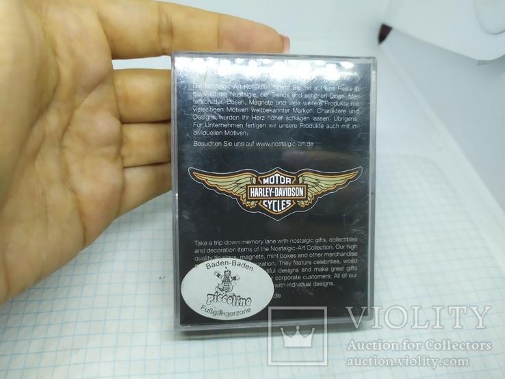 Комплект дизайнерских магнитов Harley Davidson. Байкер, фото №11