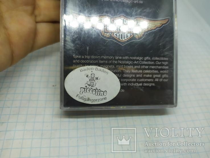 Комплект дизайнерских магнитов Harley Davidson. Байкер, фото №12