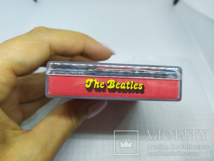 Комплект дизайнерских магнитов The Beatles, фото №3