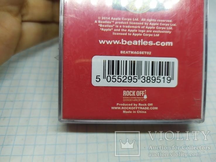 Комплект дизайнерских магнитов The Beatles, фото №7