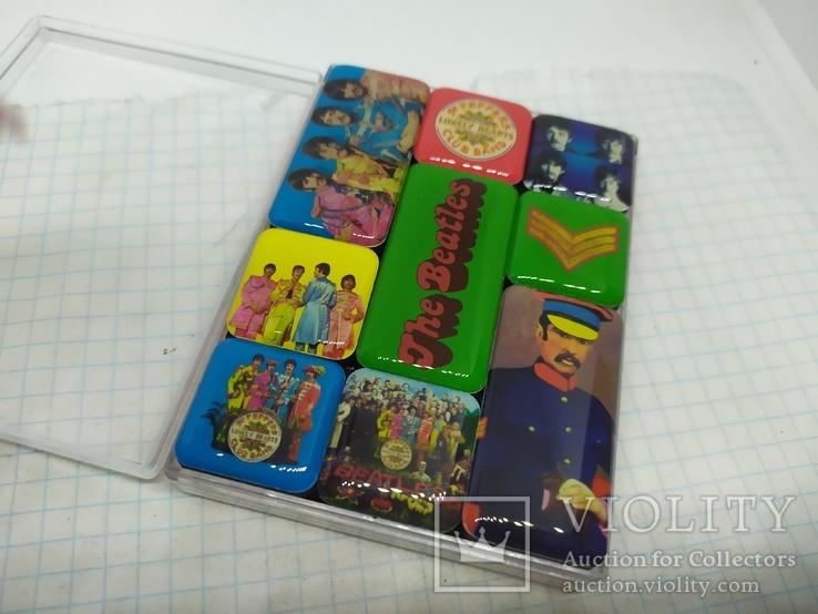 Комплект дизайнерских магнитов The Beatles, фото №8