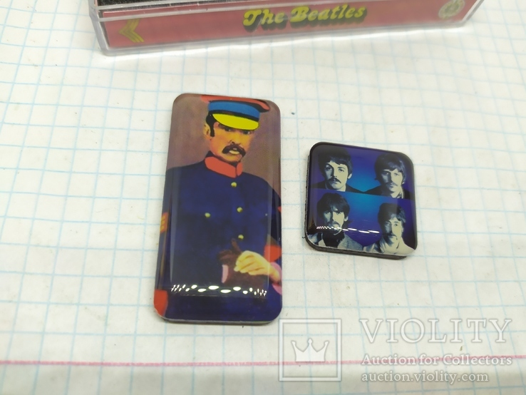 Комплект дизайнерских магнитов The Beatles, фото №13