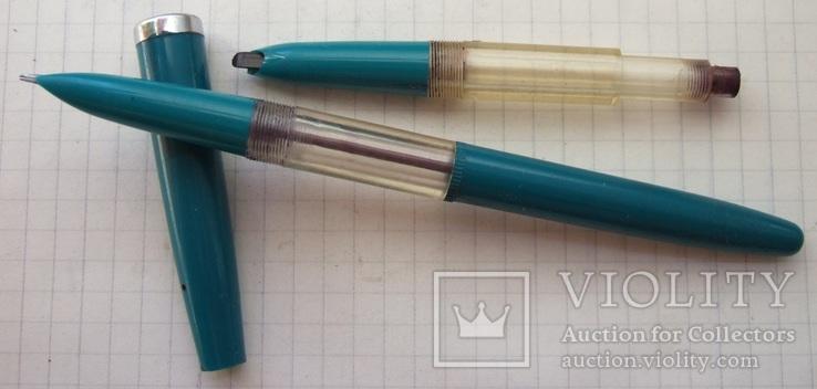 Ярославская перьевая ручка с пипеткой. 60-е года. Пишет мягко и насыщенно., фото №2