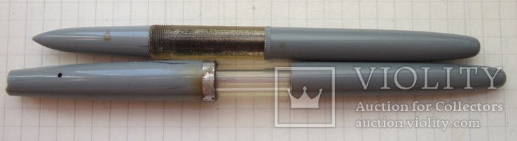 Ярославская перьевая ручка с пипеткой. 60-е года. Пишет мягко и очень тонко., фото №3