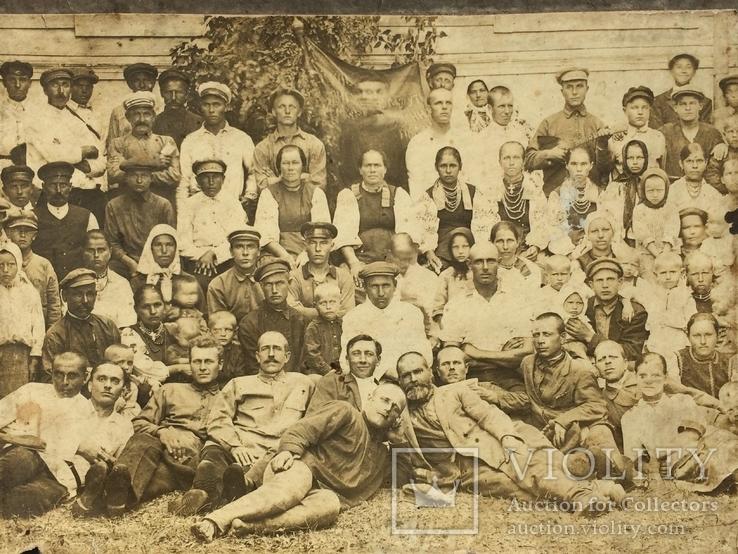 Групповое фото селян 20 хг, фото №3