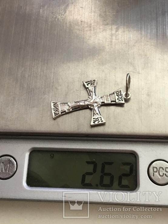 Крестик нательный, фото №6