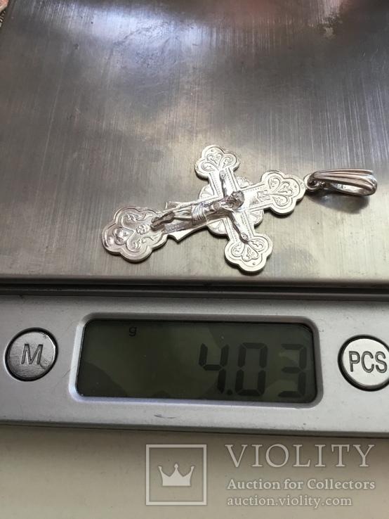 Крестик нательный, фото №7